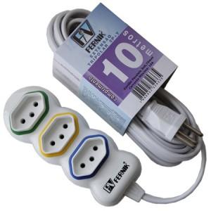 extensao-eletrica-tripolar-3-tomadas-serie-fk-860t